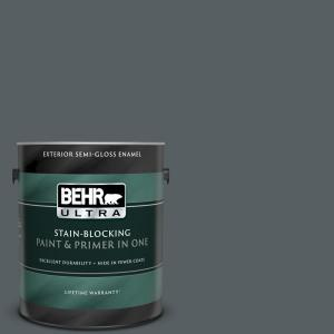 Behr Marquee 5 Gal 720f 6 Paramount Semi Gloss Enamel Exterior Paint And Primer In One 545305 The Home Depot