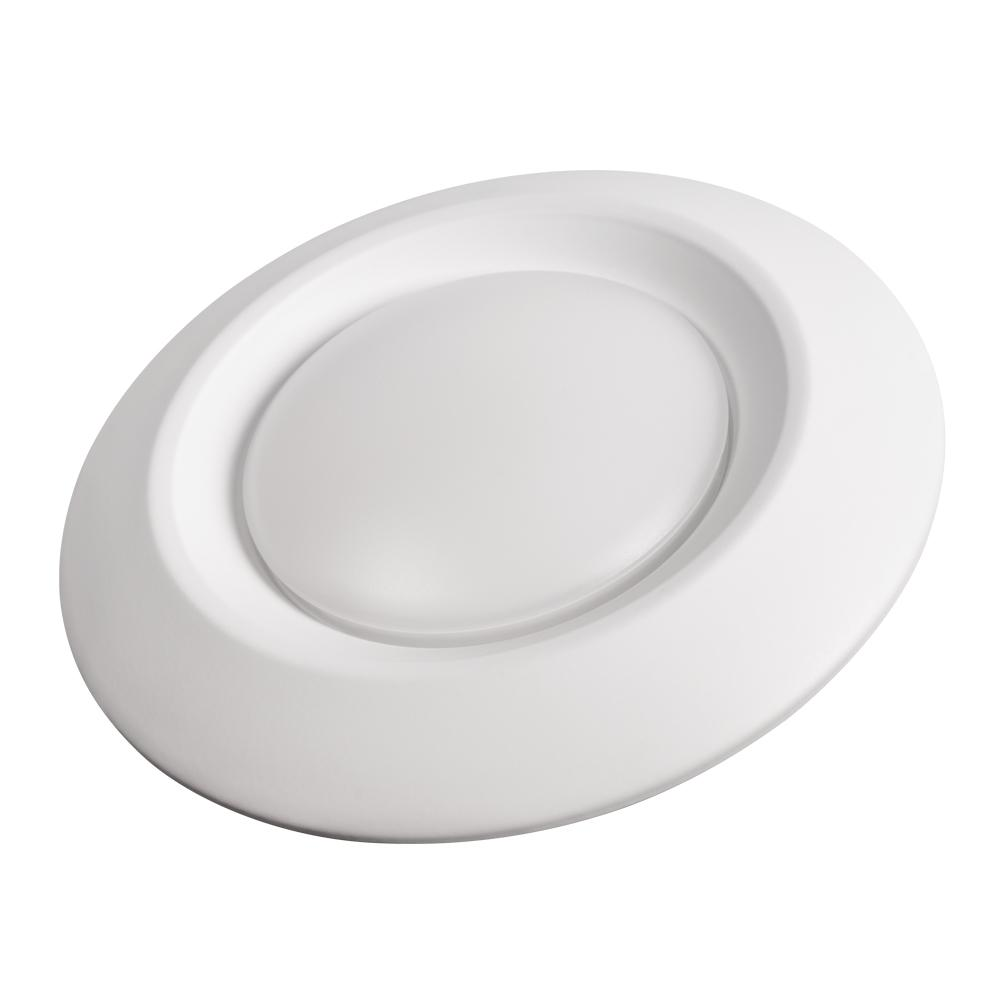Cree 6 In White Integrated Led Recessed Disk Light Trim