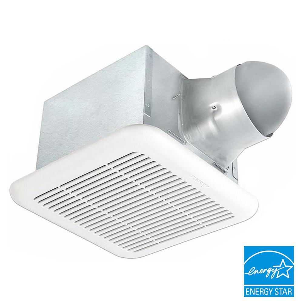 Delta Breez Signature Series 80-110 CFM Ceiling Bathroom Exhaust Fan, ENERGY STAR