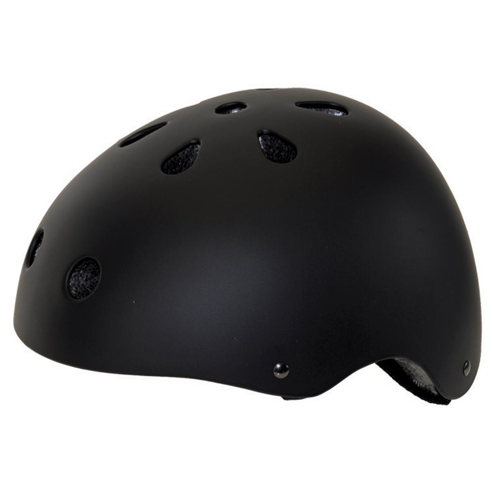 Matte Freestyle Large Bicycle Helmet in Black