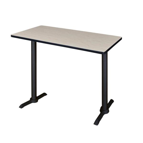 Regency Cain Maple 48 in. W Cafe High Training Table MCTRCT4824PL