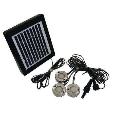 Solar LED Surface Mounted Light Set