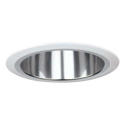 Recessed Lighting 7.12-in. Reflector Trim for Recessed Lights, Clear
