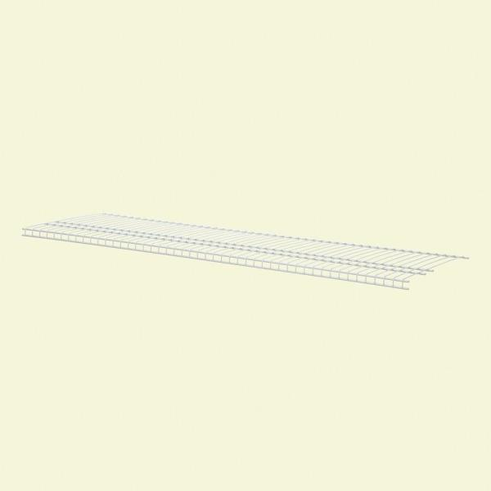 SuperSlide 48 in. W x 16 in. D Ventilated Linen Shelf