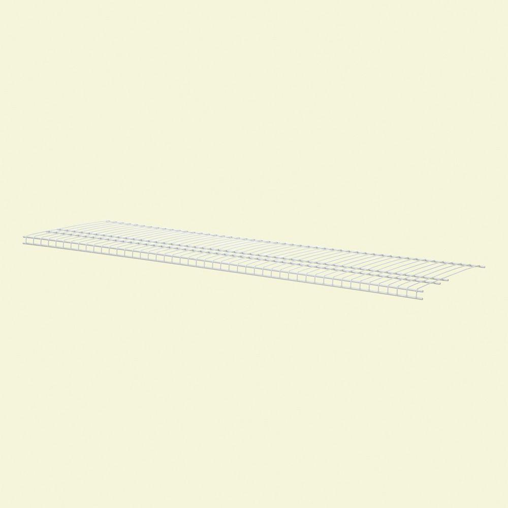 ClosetMaid SuperSlide 48 in. W x 16 in. D Ventilated Linen Shelf