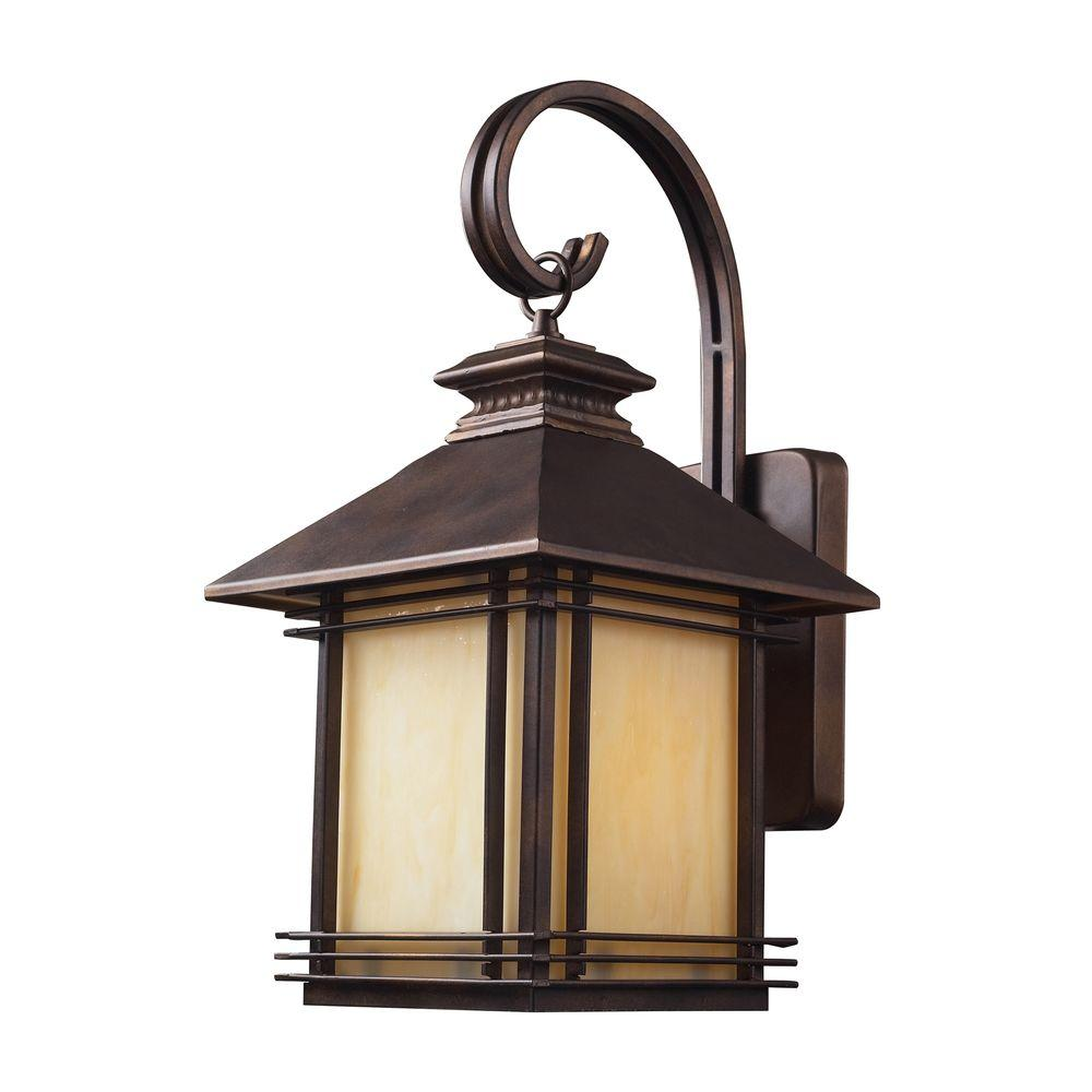 Blackwell Warm Hazelnut Bronze Outdoor Wall Sconce