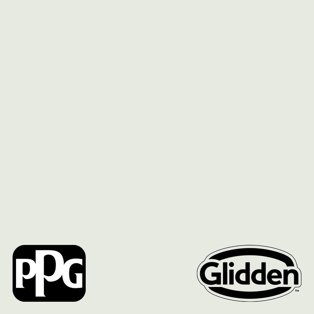 Glidden Premium 1 qt. PPG1134-1 Hydrangea Floret Flat Interior Latex Paint