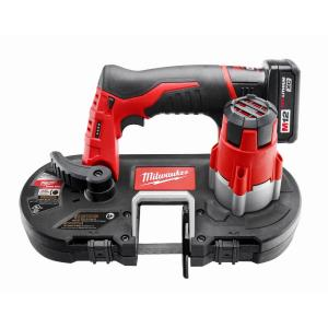 Milwaukee M12 12-Volt Lithium-Ion Cordless Sub-Compact Band Saw XC Kit by Milwaukee