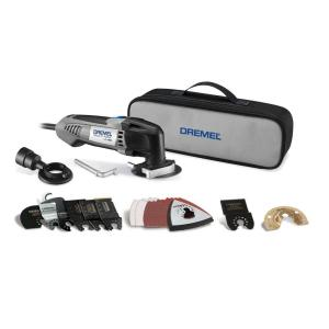 Multi-Max 2.3 Amp Variable Speed Corded Oscillating Multi-Tool Kit with 29 Accessories and Storage Bag