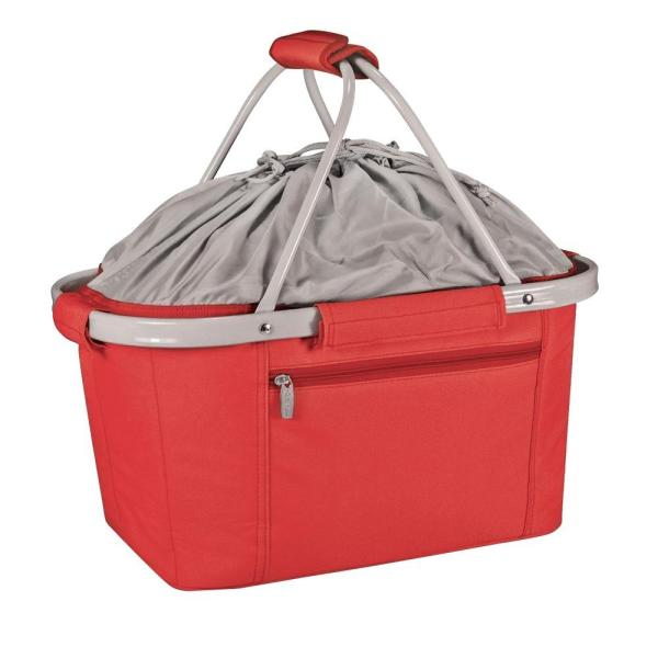 Picnic Time 26-Can Metro Red Basket Cooler Tote 645-00-100-0000