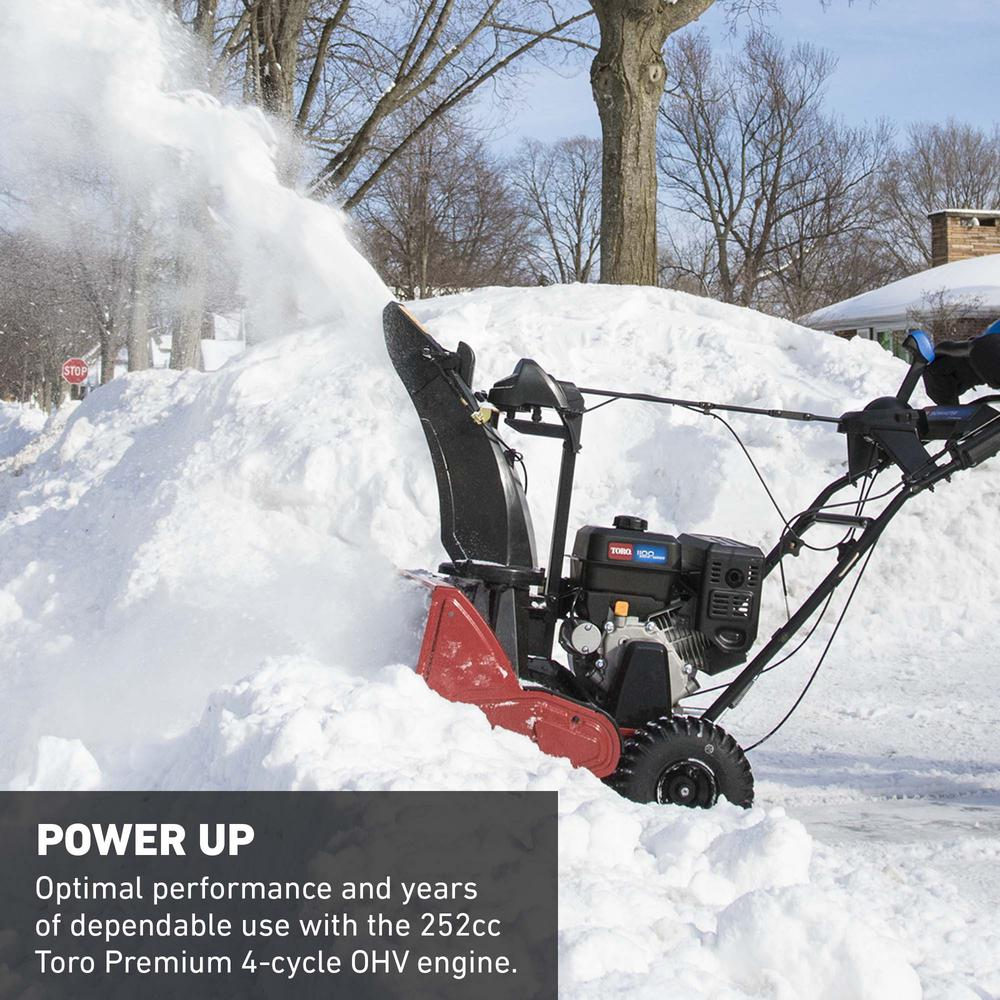 Toro SnowMaster 824 QXE 24 in  252cc Single-Stage Gas Snow Blower