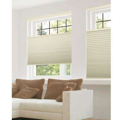 Cut-to-Width Warm Cocoa 9/16 in. Blackout Cordless Cellular Shades - 72 in. W x 72 in. L