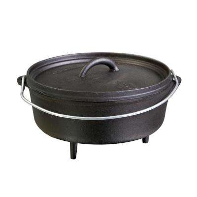 10 in. Classic Pre-Seasoned Cast Iron Dutch Oven