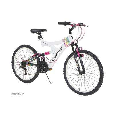 24 in. Rip Curl Girls Bike with Dual Suspension