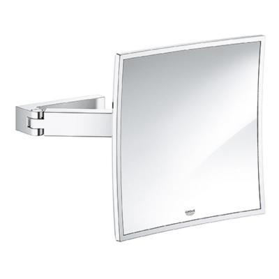 Selection Cube 8 in. x 8 in. Framed Wall Mirror in StarLight Chrome