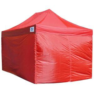 Universal Red Side Walls for 10 ft. x 15 ft. Instant (4-Piece)