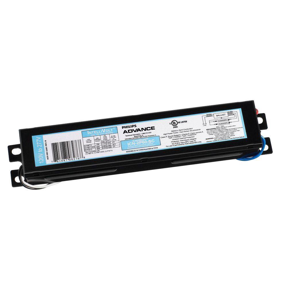 Can A Fluorescent Light Fixture Go Bad: Philips Advance 4-Lamp T8 120 To 277-Volt 24-Watt