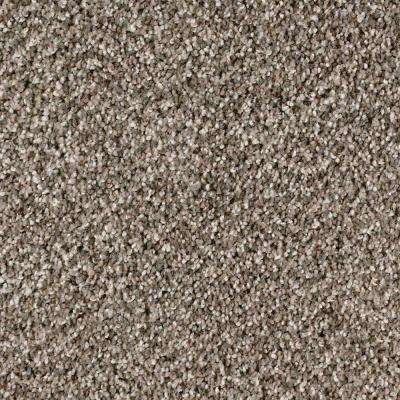 Carpet Sample - MAISIE I - In Color Taupe Essence Texture 8 in. x 8 in.