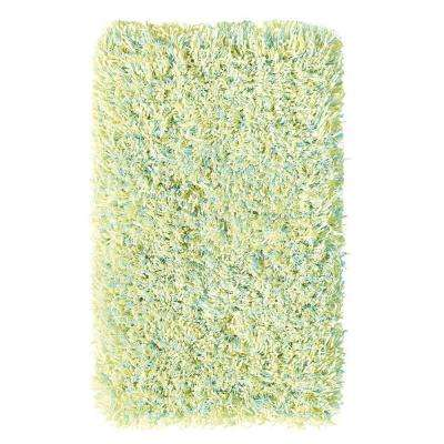 Ultimate Shag Seafoam Confetti 9 ft. x 12 ft. Area Rug