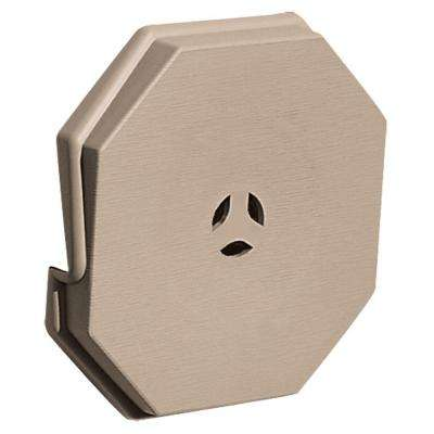 6.625 in. x 6.625 in. #023 Wicker Surface Mounting Block