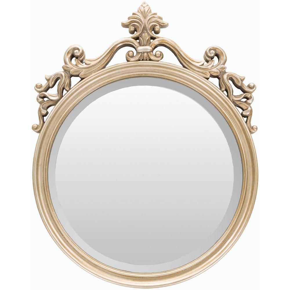 Bristow 19.5 in. x 25 in. Polyurethane Framed Mirror