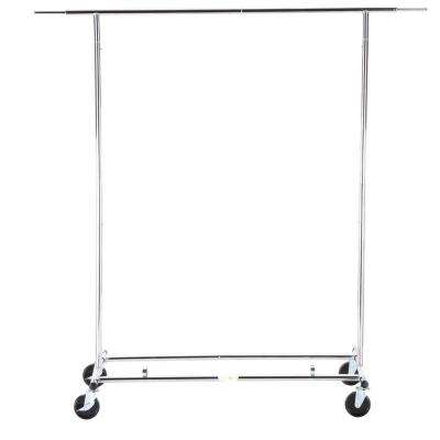 Expandable Garment Rack, Chrome