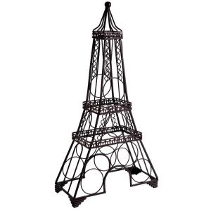 Click here to buy  Eiffel Tower Shaped 6-Bottle Wine Rack.