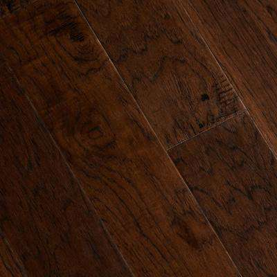 Hand Scraped Distressed Alvarado Hickory 1/2 in. x 5 in. x Varying Length Engineered Hardwood Flooring (26.25 sq.ft./Cs)