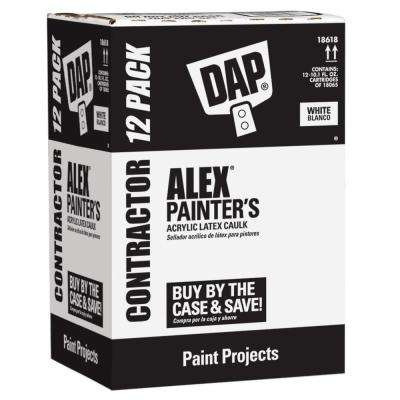 Alex Painter's 10.1 oz. All-Purpose Acrylic Latex Caulk (12-Pack)