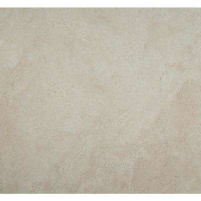 Antico Cream 36 in. x 36 in. Polished Porcelain Floor and Wall Tile (6 cases / 108 sq. ft. / pallet)