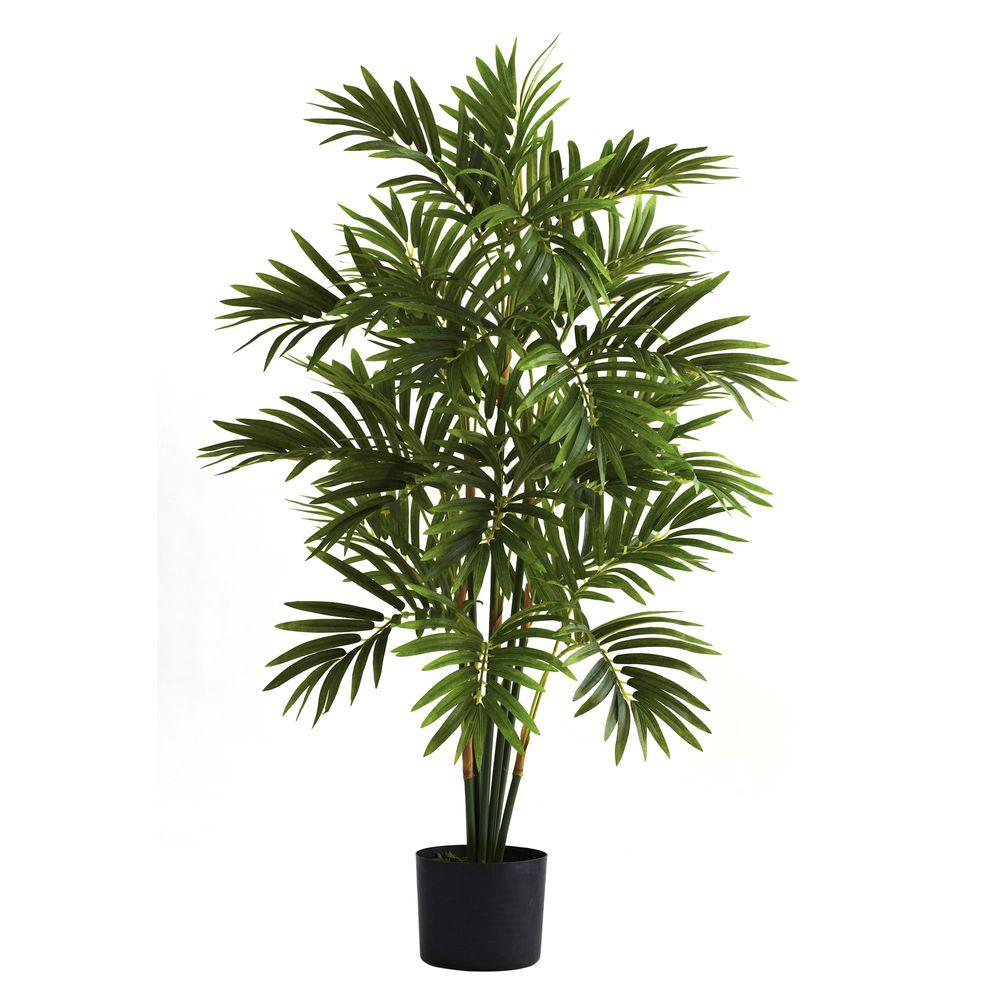 Nearly Natural 3 Ft Areca Palm Tree 5355 The Home Depot