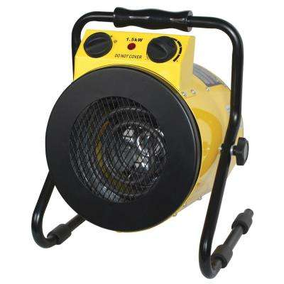 1500-Watt Portable Utility Heater with Rugged All Metal Construction