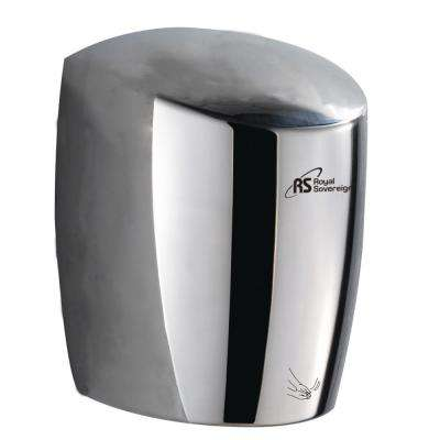 Antibacterial High Efficiency Touchless Electric Hand Dryer in Stainless Steel