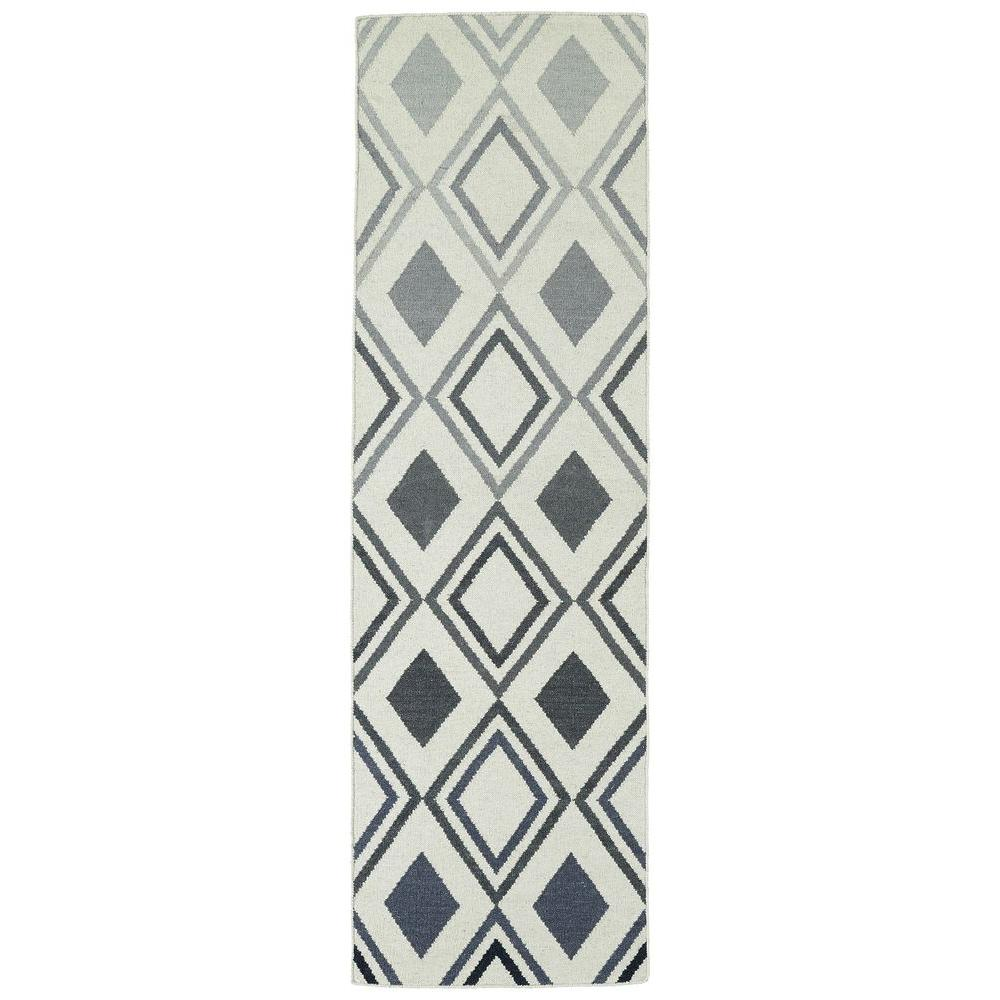 Kaleen Glam Grey 2 ft. 6 in. x 8 ft. Runner
