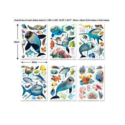 Multi-Colored Sea Adventure Wall Decals