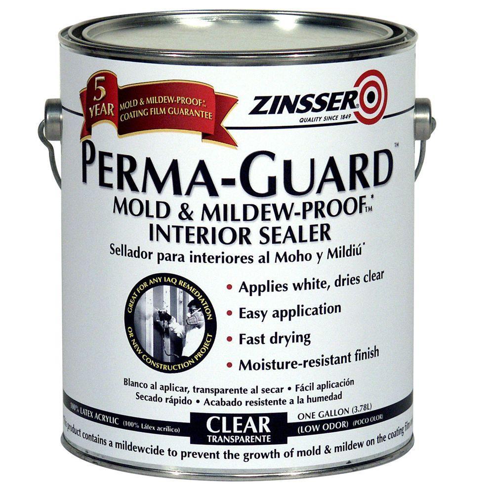 Zinsser 1-gal. Perma-Guard Mold & Mildew Sealer-DISCONTINUED
