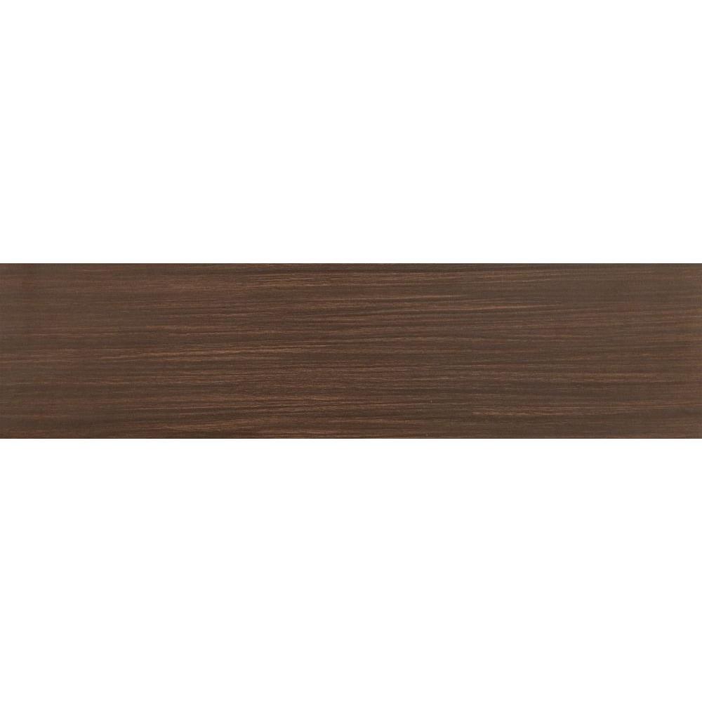 Ms International Timber Chocolate 6 In X 24 In Glazed