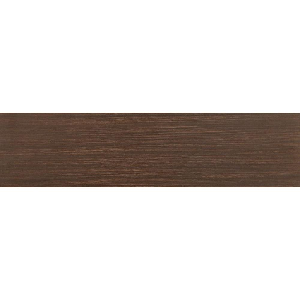 Msi timber chocolate 6 in x 24 in glazed ceramic floor for 12 x 48 bathroom window