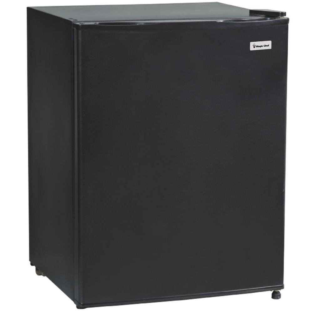Magic Chef 2.4 cu. ft. Mini Refrigerator in Black