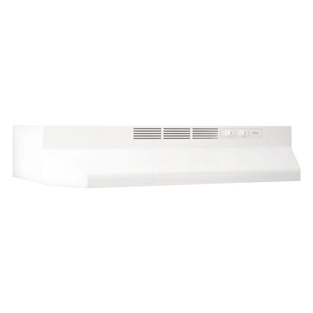 41000 Series 42 in. Non-Vented Range Hood in White