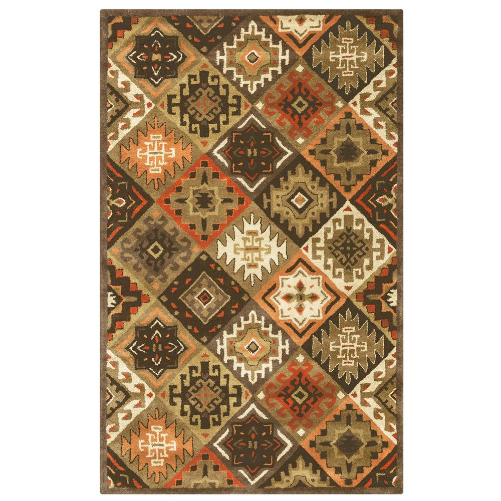 Rizzy Home Southwest Multicolor 5 Ft X 8 Ft Area Rug
