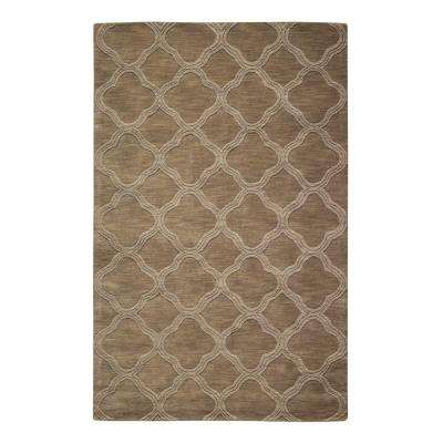 Morocco Taupe 5 ft. x 8 ft. Area Rug