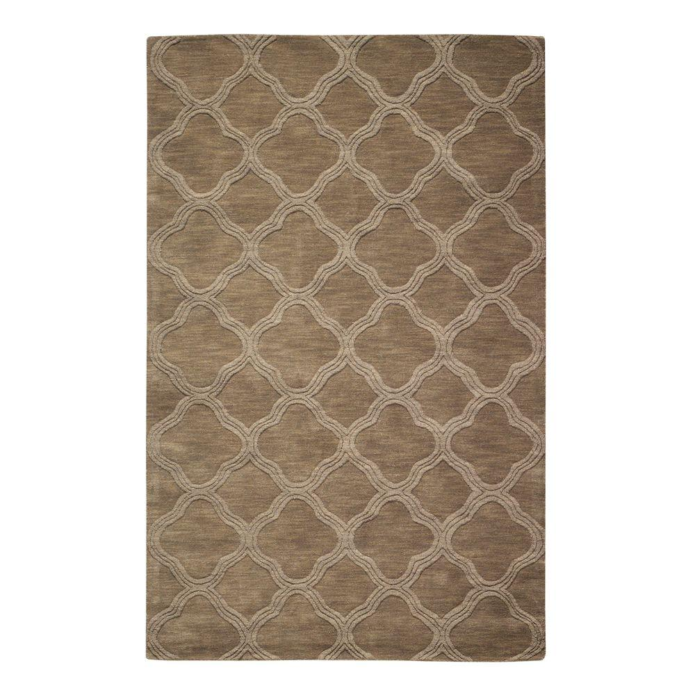 Home Decorators Collection Morocco Taupe 8 Ft. X 11 Ft. Area Rug 0481630890    The Home Depot