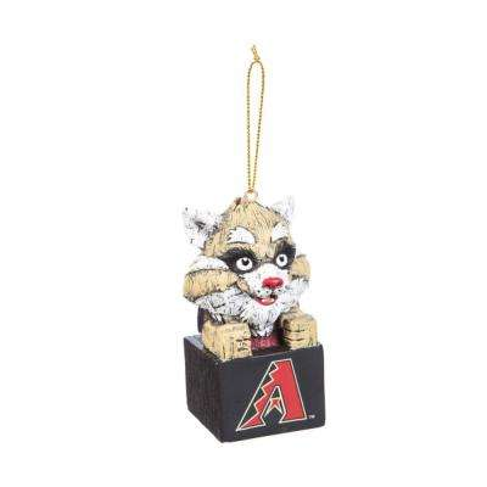 Arizona Diamondbacks 1-1/2 in. MLB Mascot Tiki Totem Christmas Ornament