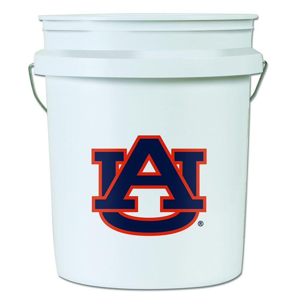 1754dcddb50e1 WinCraft 5 gal. Auburn U College Bucket-2633215 - The Home Depot