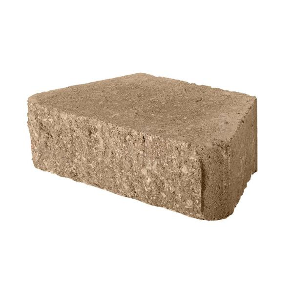 3 in. H x 10 in. W x 5.87 in. D Buff Concrete Retaining Wall Block (280-Piece/58.4 sq. ft./Pallet)
