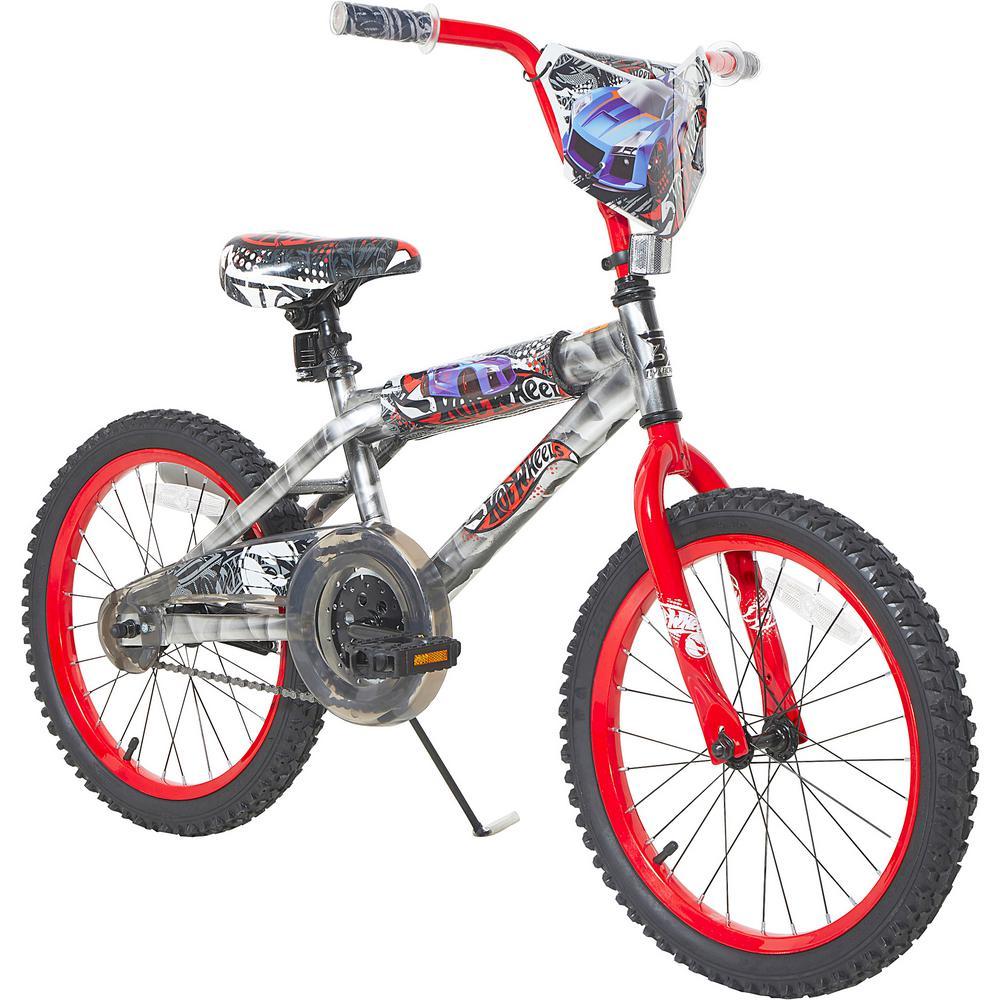 18 in. Boys Hot Wheels Bike