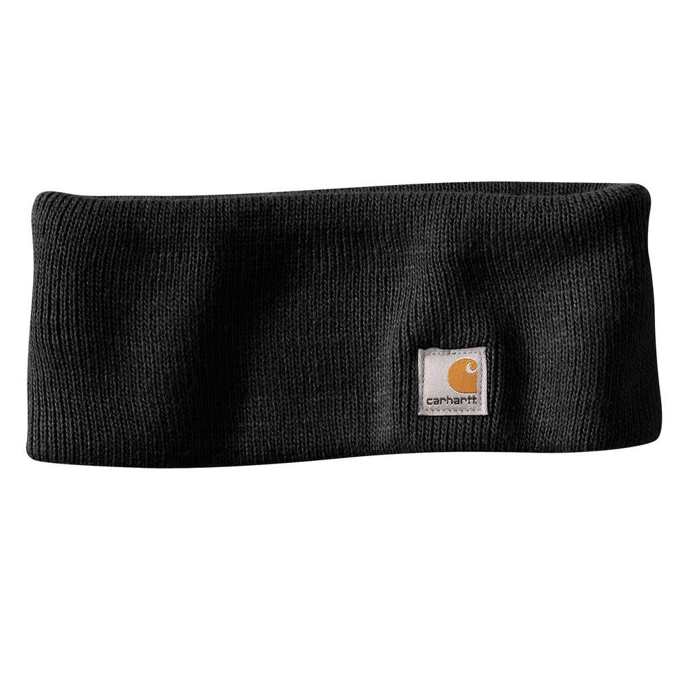Women's OFA Black Acrylic Headband Hat