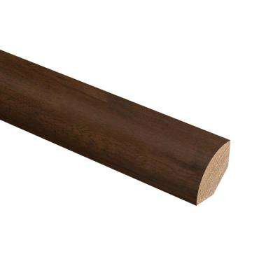 Scraped Ember Hickory 3/4 in. Thick x 3/4 in. Wide x 94 in. Length Hardwood Quarter Round Molding