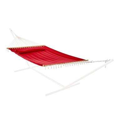 Monte Carlo 13 ft. Premium Poly Double Hammock in Bossa Nova Red
